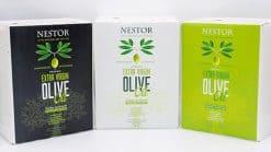 3 kleuren olijf olie