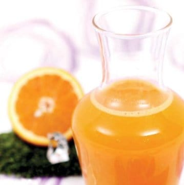 Sinasappel sap